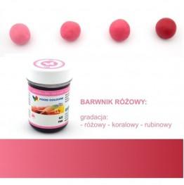 Barwnik Food Colours w żelu różowy 35g
