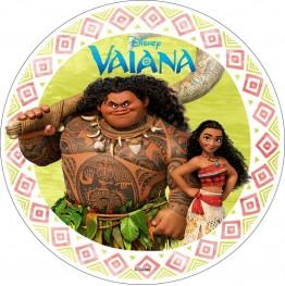 Opłatek na tort Vaiana-Skarb Oceanu-4-20cm