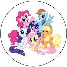 Opłatek na tort My Little Pony-3-20cm