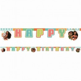 Banner urodzinowy Vaiana:Skarb Oceanu-195 cm