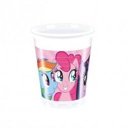 Kubeczki plastikowe Pony-8 sztuk-200ml