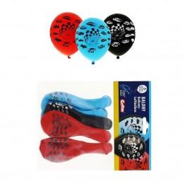 Balony lateksowe Samochody-5 sztuk