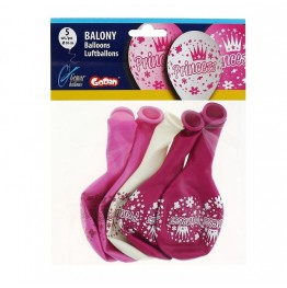 Balony Gemar-Księżniczki-5 sztuk