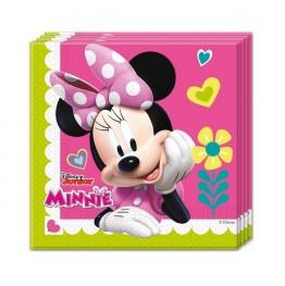 Serwetki papierowe Myszka Minnie-20 sztuk