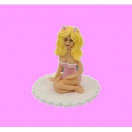 Figurka na tort Króliczek na urodziny
