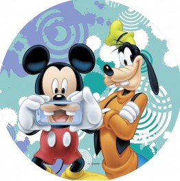Opłatek na tort Myszka Miki-Nr 25-21cm