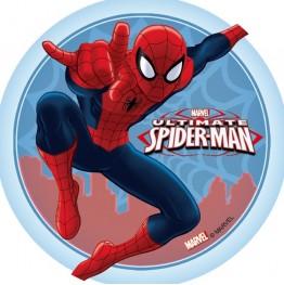 Opłatek na tort Spiderman-21-21cm