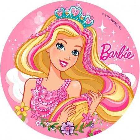 Opłatek na tort Barbie-Nr 21-21cm