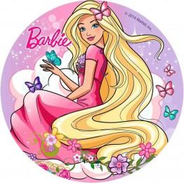 Opłatek na tort Barbie-Nr 22-21cm