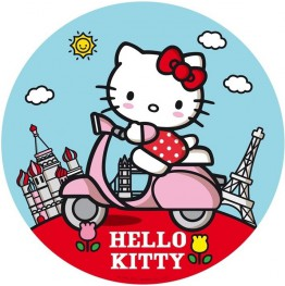 Opłatek na tort Hello Kitty-Nr 17-21cm