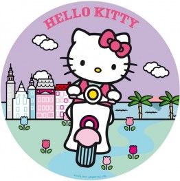 Opłatek na tort Hello Kitty-Nr 18-21cm