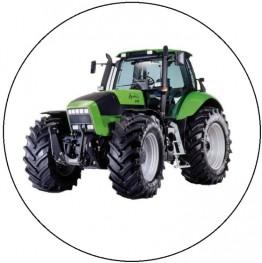 Opłatek na tort Traktor-5-20cm