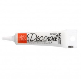 Pisak żelowy biały-matowy Decorgel 20g-Modecor