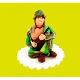 Figurka na tort Żołnierz z okazji urodzin