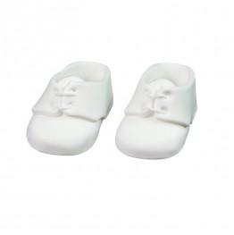 Para bucików na chrzest biała-Natalia