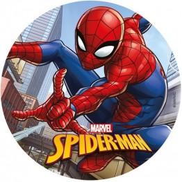Opłatek na tort Spiderman-26-21cm
