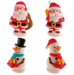 Dekoracje świąteczne Dekora-4 sztuki