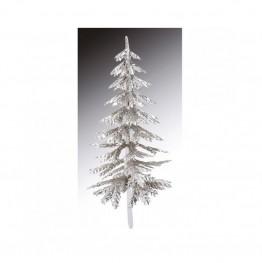 Choinka dekoracyjna srebrna-Modecor