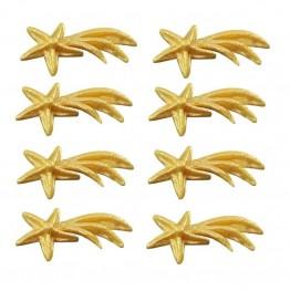 Gwiazdka złota z cukru-20 sztuk