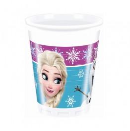Kubeczki plastikowe Frozen-8 sztuk