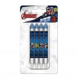 Świeczki urodzinowe Avengers-8 sztuk