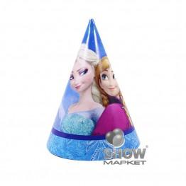 Czapeczki papierowe Frozen-6 sztuk