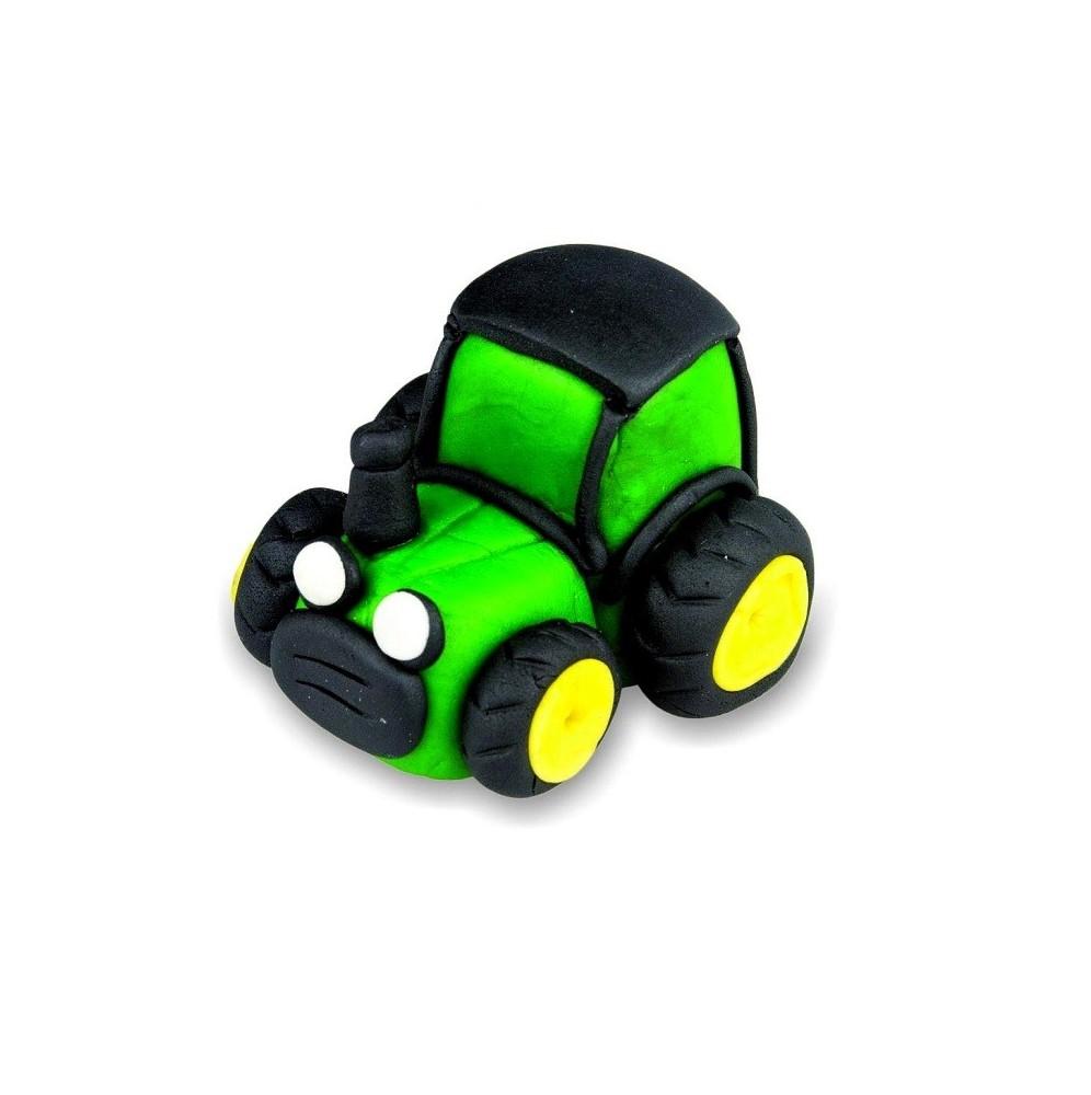 Traktorek z masy cukrowej