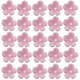 Kwiatuszki mini różowe-100 sztuk