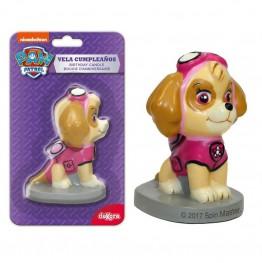 Świeczka urodzinowa 3D Psi Patrol-Dekora-Skye