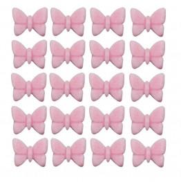 Motylki mini-różowe-100 sztuk
