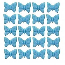 Motylki mini-niebieskie-100 sztuk