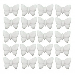 Motylki mini-białe-100 sztuk