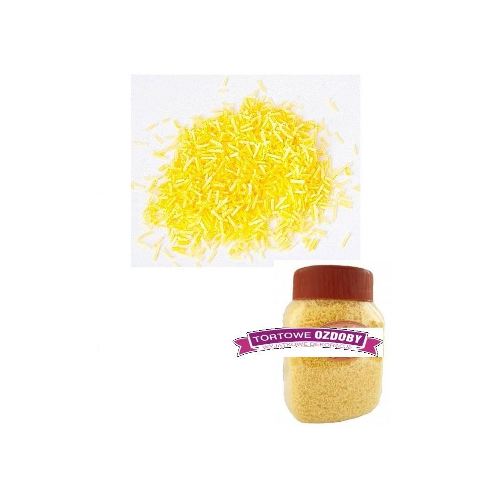 Posypka z wafla żółta-drobna-100g