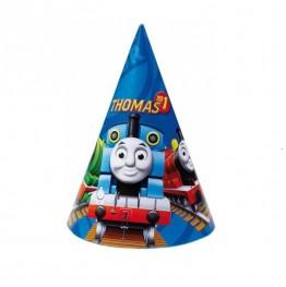 Czapeczki urodzinowe Tomek i Przyjaciele-6 sztuk