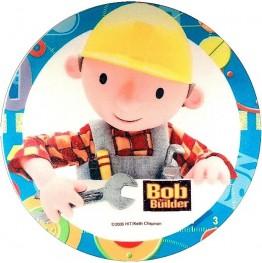 Opłatek na tort Bob Budowniczy-5-20cm