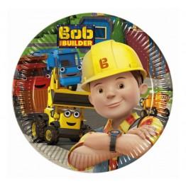Talerzyki papierowe-Bob Budowniczy-19
