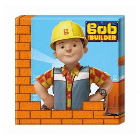 Serwetki papierowe Bob Budowniczy-20 sztuk