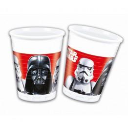 Kubeczki plastikowe Star Wars-8 sztuk