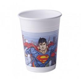 Kubeczki plastikowe Superman-8 sztuk