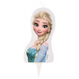 Świeczka urodzinowa na tort Elsa-Modecor