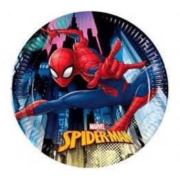 Talerzyki papierowe-Spiderman-19