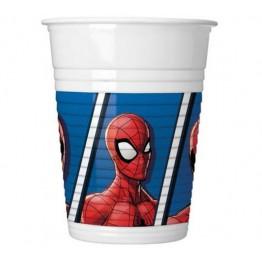 Kubeczki plastikowe Spiderman-8 sztuk
