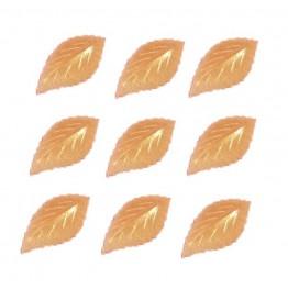 Listki z wafla złote-100 sztuk