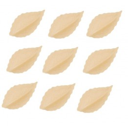 Listki z wafla ecru-100 sztuk